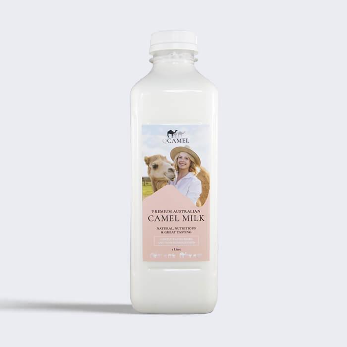 QCamel Australian Camel Milk 1 litre