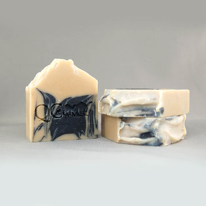 QCamel Camel Milk Activated Charcoal Soap