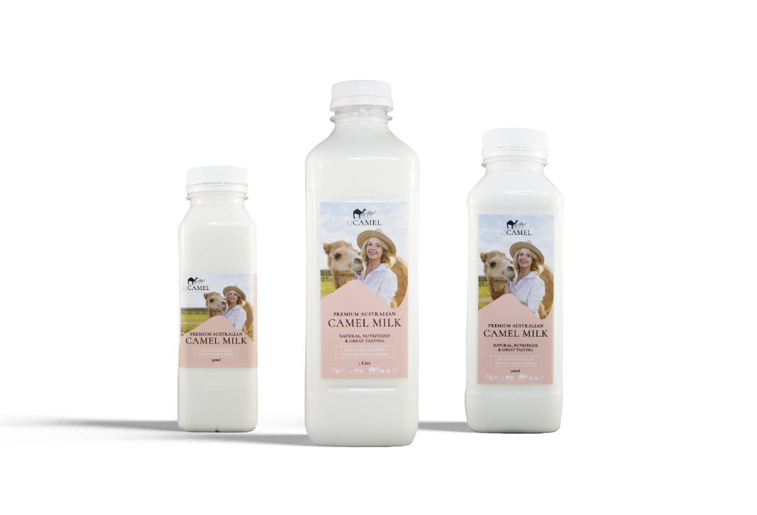 QCamel Camel Milk Products